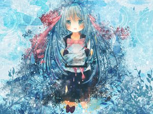 Rating: Safe Score: 45 Tags: hatsune_miku hinanosuke vocaloid User: HawthorneKitty