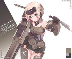 Rating: Safe Score: 66 Tags: frame_arms_girl gourai mechagirl tagme tagme_(artist) User: luckyluna