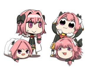 Rating: Safe Score: 27 Tags: 1nilla' all_male astolfo braids cape cat_smile chibi fang fate/grand_order fate_(series) male pink_hair ponytail purple_eyes short_hair trap white yukkuri_shiteitte_ne User: otaku_emmy