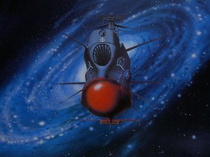 Rating: Safe Score: 13 Tags: boat nobody space space_battleship_yamato stars User: Oyashiro-sama