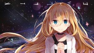 Rating: Safe Score: 63 Tags: aqua_eyes blonde_hair blush choker long_hair nahaki rachel_gardner satsuriku_no_tenshi User: RyuZU