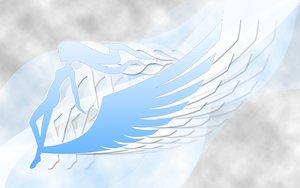 Rating: Safe Score: 24 Tags: logo silhouette sky_girls wings User: Oyashiro-sama