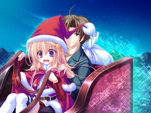 Rating: Safe Score: 13 Tags: christmas game_cg meri_chri mikagami_mamizu santa_costume seiya_mashiro whirlpool User: 秀悟