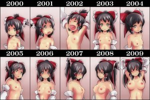 Rating: Questionable Score: 834 Tags: ao_usagi blush breasts hakurei_reimu loli nipples tears topless touhou User: opai