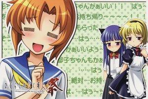 Rating: Safe Score: 21 Tags: furude_rika game_cg higurashi_no_naku_koro_ni houjou_satoko ryuuguu_rena User: Oyashiro-sama