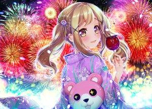 Rating: Safe Score: 6 Tags: apple bang_dream! blonde_hair blush candy fireworks food fruit ichigaya_arisa japanese_clothes long_hair summer teddy_bear tsurugi_hikaru twintails yellow_eyes yukata User: otaku_emmy