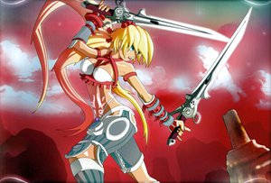 Rating: Safe Score: 21 Tags: ayumi bikini scan swimsuit sword weapon x-blades User: gnarf1975