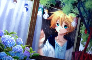 Rating: Safe Score: 54 Tags: all_male doll flowers hatsune_miku kagamine_len kagamine_rin kaito male meiko necklace rain shinwa umbrella vocaloid water User: MissBMoon