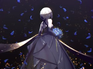 Rating: Safe Score: 59 Tags: artoria_pendragon_(all) blonde_hair cropped dress elbow_gloves fate/grand_order fate_(series) flowers gloves magicians petals saber saber_alter short_hair yellow_eyes User: mattiasc02