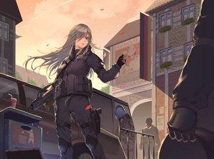 Rating: Safe Score: 40 Tags: anthropomorphism g36c_(girls_frontline) girls_frontline gun itoucon weapon User: RyuZU