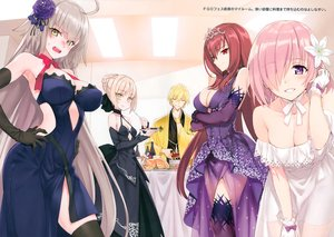 Rating: Safe Score: 74 Tags: fate/grand_order fate_(series) gilgamesh group jeanne_d'arc_alter jeanne_d'arc_(fate) male matsuryuu matthew_kyrielite saber saber_alter scan scathach_(fate/grand_order) User: RyuZU