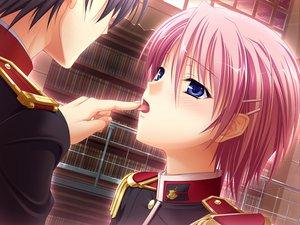 Rating: Safe Score: 68 Tags: game_cg kisaki_mio komori_kei male mizuno_takahiro ricotta walkure_romanze User: Maboroshi