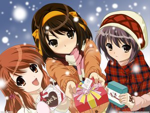 Rating: Safe Score: 94 Tags: asahina_mikuru christmas nagato_yuki scarf snow suzumiya_haruhi suzumiya_haruhi_no_yuutsu winter User: 秀悟
