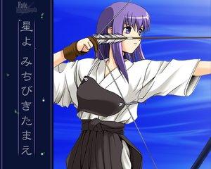 Rating: Safe Score: 9 Tags: bow_(weapon) fate_(series) fate/stay_night matou_sakura weapon User: Oyashiro-sama