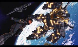 Rating: Safe Score: 36 Tags: earth marida_kruz mecha mobile_suit_gundam mobile_suit_gundam_unicorn space User: WingsofLight