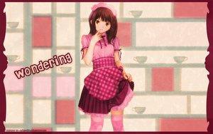 Rating: Safe Score: 14 Tags: apron kobayashi_yuji thighhighs waitress User: Oyashiro-sama