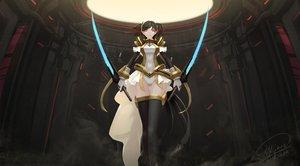 Rating: Safe Score: 97 Tags: mai-hime mai-otome nina_wang shou_mai sword weapon User: FormX