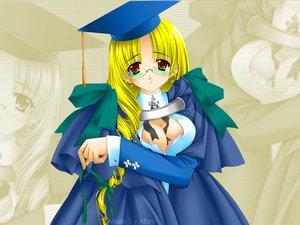 Rating: Safe Score: 3 Tags: blonde_hair carnelian glasses red_eyes User: Oyashiro-sama