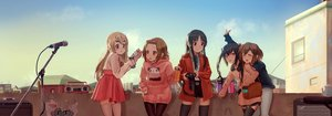 Rating: Safe Score: 76 Tags: akiyama_mio blonde_hair blue_eyes brown_hair camera dualscreen group hirasawa_yui hoodie jpeg_artifacts k-on! kotobuki_tsumugi microphone nakano_azusa pantyhose short_hair skirt steamy_tomato tainaka_ritsu thighhighs zettai_ryouiki User: mattiasc02