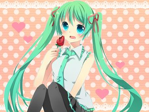 Rating: Safe Score: 16 Tags: hatsune_miku vocaloid User: HawthorneKitty
