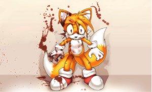 Rating: Safe Score: 35 Tags: animal animal_ears blood fox sonic_the_hedgehog tail tails User: Oyashiro-sama