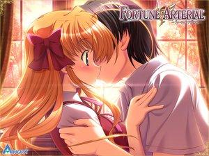 Rating: Safe Score: 41 Tags: bekkankou fortune_arterial kiss sendo_erika User: kowarenai
