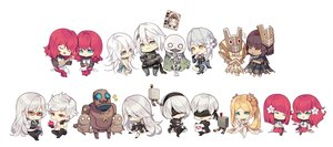 Rating: Safe Score: 56 Tags: adam_(nier__automata) apple aqua_eyes blindfold blonde_hair book chibi debol emil eve_(nier:_automata) food fruit glasses gray_hair green_eyes group instrument kaine kamen_no_ō male mask nier nier:_automata nier_(character) orange_eyes pod_(nier:_automata) popol red_eyes red_hair robot shiro_no_sho tagme_(artist) tagme_(character) vier_(nier) white white_hair yonah yorha_unit_no._2_type_a yorha_unit_no._2_type_b yorha_unit_no._9_type_s User: otaku_emmy