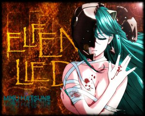 Rating: Questionable Score: 71 Tags: blood breasts cleavage elfen_lied hatsune_miku lucy_(elfen_lied) parody third-party_edit topless vocaloid User: Tensa