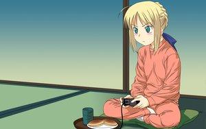 Rating: Safe Score: 26 Tags: artoria_pendragon_(all) fate_(series) fate/stay_night saber User: Oyashiro-sama