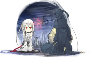 Rating: Safe Score: 43 Tags: armor original red_eyes shiroganeusagi white_hair User: FoliFF