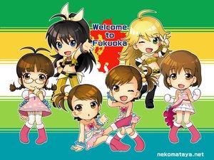 Rating: Safe Score: 11 Tags: akizuki_ritsuko chibi futami_ami futami_mami ganaha_hibiki group hagiwara_yukiho hoshii_miki idolmaster twins User: pantu
