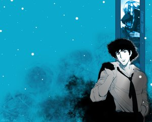 Rating: Safe Score: 4 Tags: cowboy_bebop julia spike_spiegel User: Oyashiro-sama