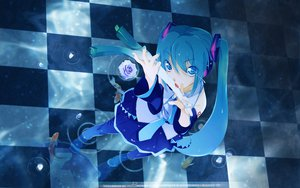 Rating: Questionable Score: 67 Tags: hatsune_miku maruku vocaloid User: 秀悟