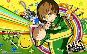 Rating: Safe Score: 42 Tags: glasses persona persona_4 satonaka_chie soejima_shigenori watermark User: rargy