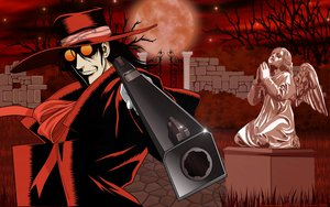 Rating: Safe Score: 13 Tags: alucard gun hellsing moon weapon User: happygestapo