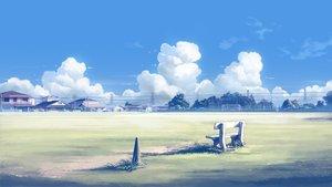Rating: Safe Score: 40 Tags: building city clouds grass mclelun nobody original scenic sky watermark User: RyuZU