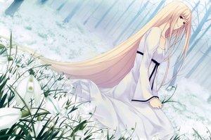 Rating: Safe Score: 81 Tags: blonde_hair caucasus dress long_hair nanatsuki_shion red_eyes sugina_miki tree User: luckyluna