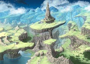 Rating: Safe Score: 58 Tags: clouds nagi_itsuki nobody original scenic sky tree water User: RyuZU