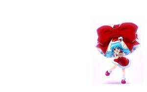 Rating: Safe Score: 46 Tags: christmas gloves hat ikamusume kouya_(toys_robot) loli ribbons shinryaku!_ikamusume white User: SciFi