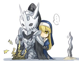 Rating: Safe Score: 12 Tags: armor blonde_hair chibi original shiroganeusagi yellow_eyes User: FoliFF