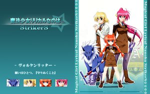 Rating: Safe Score: 15 Tags: mahou_shoujo_lyrical_nanoha mahou_shoujo_lyrical_nanoha_strikers pantyhose shamal signum vita zafira User: abdd