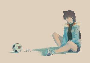 Rating: Safe Score: 26 Tags: ball black_hair detective_conan long_hair mouri_ran shorts signed xiaobanbei_milk User: RyuZU