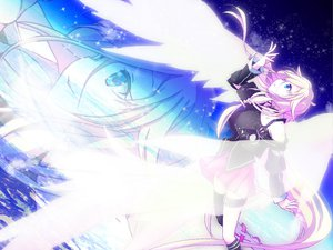 Rating: Safe Score: 50 Tags: haru_aki ia space vocaloid wings zoom_layer User: MissBMoon
