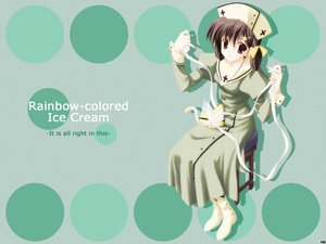 Rating: Safe Score: 0 Tags: nanao_naru rainbow_colored_icecream User: Oyashiro-sama