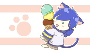 Rating: Safe Score: 7 Tags: catboy chibi food ice_cream kaito vector vocaloid User: HawthorneKitty