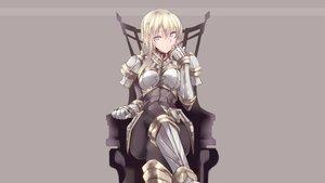 Rating: Safe Score: 161 Tags: aliasing armor blonde_hair blue_eyes original third-party_edit touma_kisa User: Nanashi-san