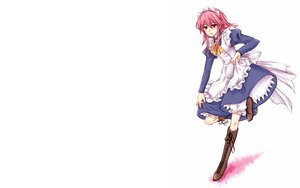 Rating: Safe Score: 30 Tags: boots headband maid pink_eyes pink_hair shakugan_no_shana short_hair white wilhelmina_carmel User: Umbra