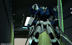 Rating: Safe Score: 43 Tags: mecha mobile_suit_gundam mobile_suit_gundam_00 watermark weapon zefai User: opai