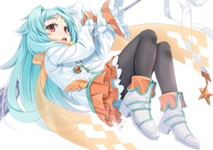 Rating: Safe Score: 39 Tags: aqua_hair boots izumi_miyako loli long_hair pantyhose princess_connect! red_eyes scarf signed skirt tagme_(artist) User: BattlequeenYume