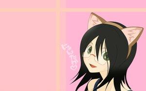 Rating: Safe Score: 7 Tags: animal_ears catgirl fujiyoshi_harumi sayonara_zetsubou_sensei User: 秀悟